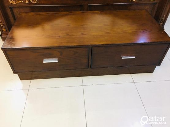 For sell wooden tv stand length 138cm