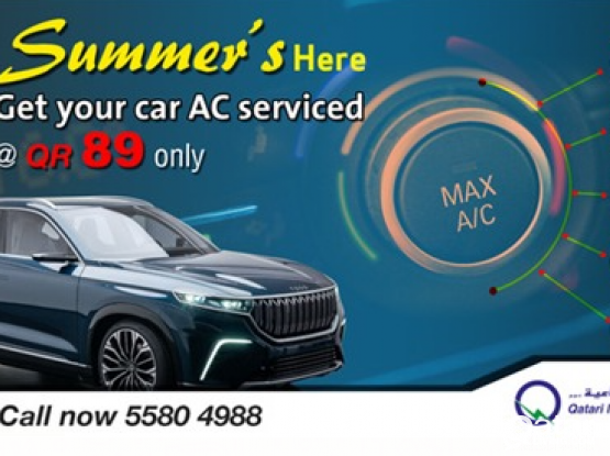 AC services for Car just QR 89