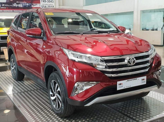 Pick and Drop of service with New Toyota Rush