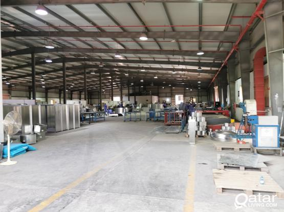 7000.Sqm HVAC ALUMINUM & STEEL WORKSHOP  FOR RENT IN NEW INDUSTRIAL AREA