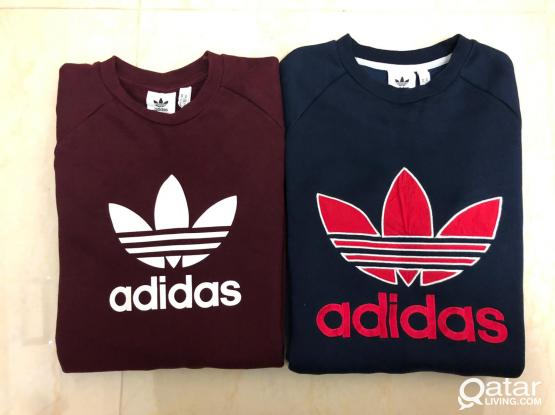 2 Adidas Sweatshirts For Sale