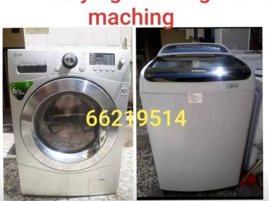 We buy washing machin scrap ac 66219514
