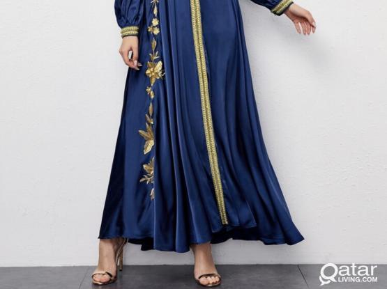 Elegant blue dress/party dress