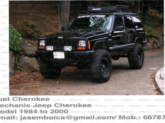 Offer service / maintenance & lift up Jeep Cherokee 84-01