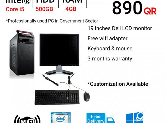 CALL 50569911 | 50529911 Computer for sale (Very Good Condition PCs which are Professionally used )