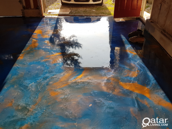 Epoxy Flooring and water proofing