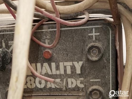 Press drill and welding machine