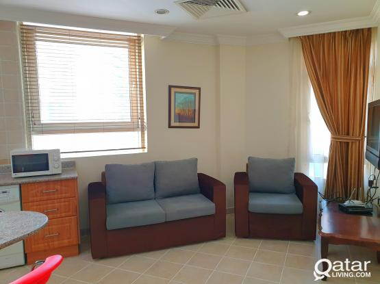 NO COMMISSION F/F 1BHK WITH GYM Close to Corniche