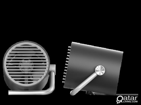 Smart Frog Cool Engine Portable Mini USB Desktop Fan – Black