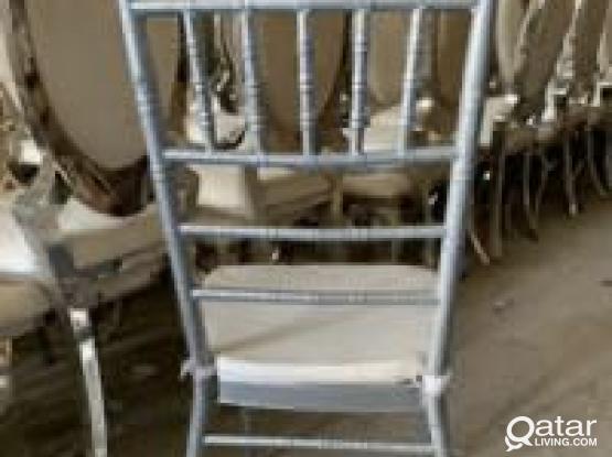 Modern Medium Size Aluminum Chair
