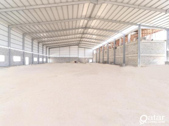 Warehouse with Refrigerator 5000 SQM For Rent.