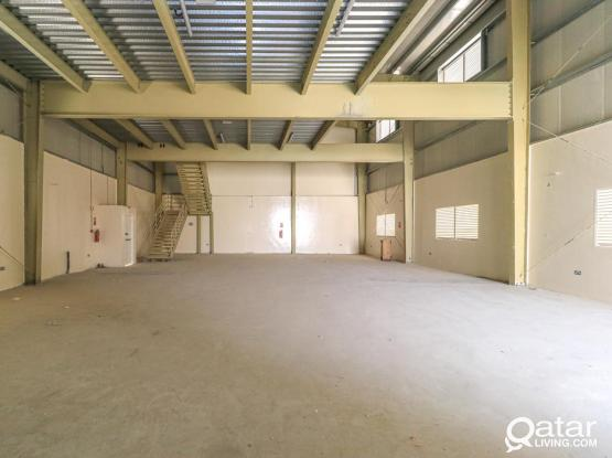 Brand new warehouse including rooms & offices.