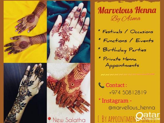 Henna/Mehindhi Artist
