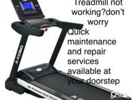 Treadmills Repaire & Maintenance Services @ Door
