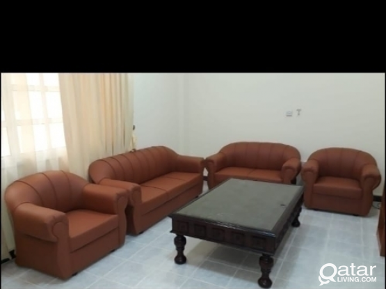 New sofas FOR sell 3+2+1+1= 7 seter QR 1100