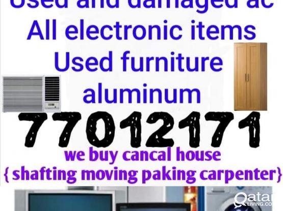 We buy household items
