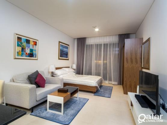 Fully Furnished Studio - Viva Bahriya - 14 months contract