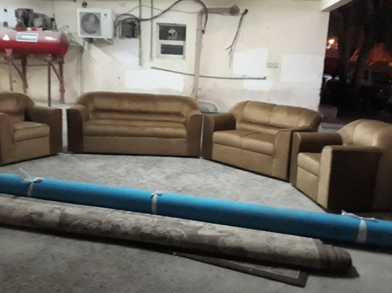 new sofas FOR sell QR 1800