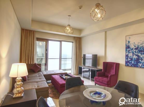 Spacious 2BD for Sale - Lusail - Burj Damac Waterfront
