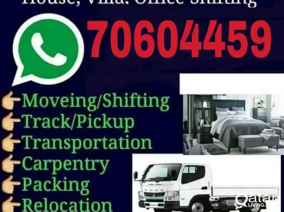 Qatar Moving Shifting Services Call & WhatsApp-+97