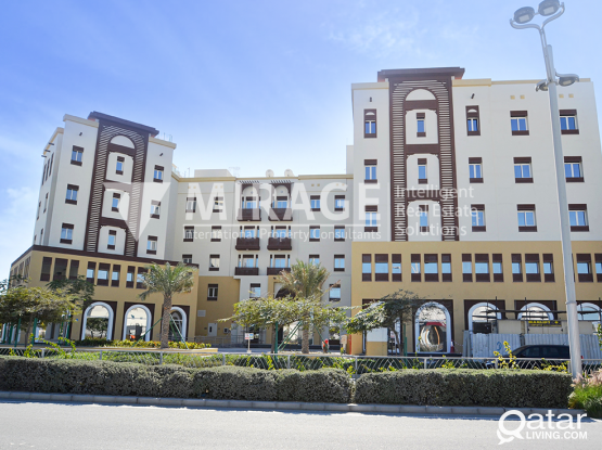 Retail spaces in this luxurious RESIDENTIAL COMPLEX