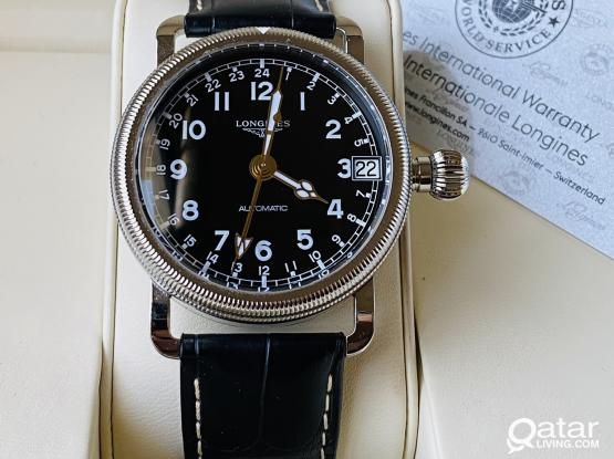 Longines Avigation Oversize Crown GMT