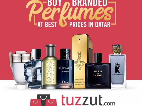 Buy Branded Perfumes at Best Price in Qatar from tuzzut.com