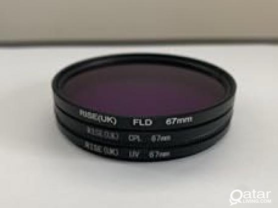 67mm Filter Kit UV CFL FLD