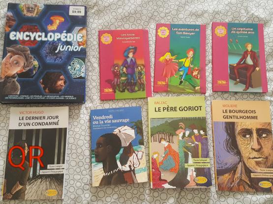 Books english- french-