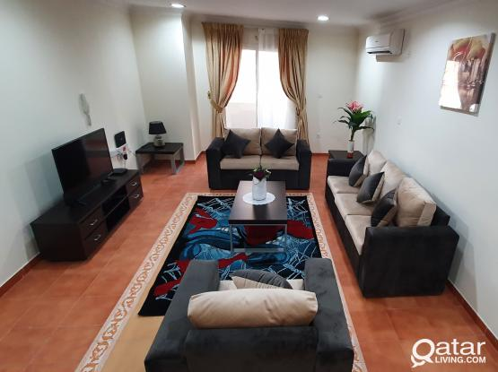2BHK Fully Furnished Apartments with BALCONY near Qatar National Museum