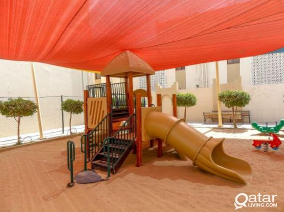 Nice 2-Bebdroom FF w/in fully-serviced compound In Ezdan Village