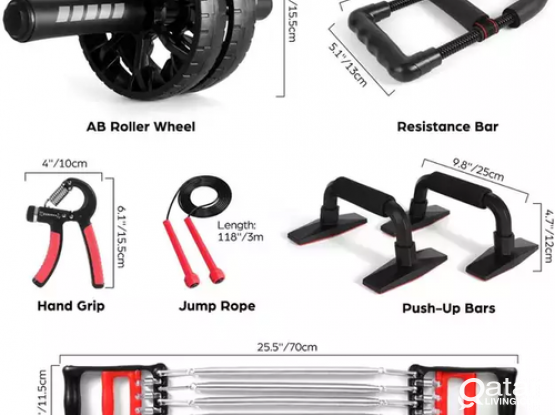 Perfect 6 in 1 Workout Fitness Set