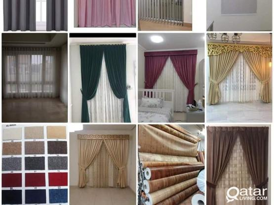 Curtain Making and Fixing. �Blackout Blinds & Roller Making.  �Sofa upholstery service.  �Readymade