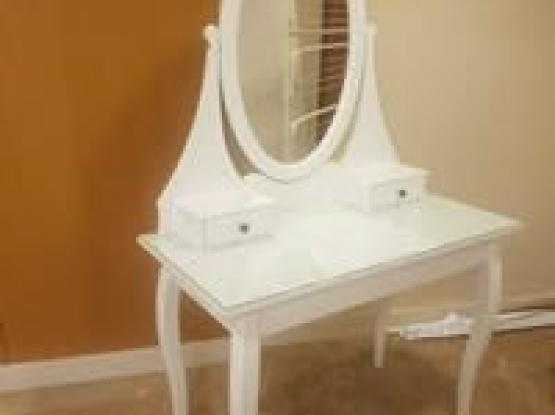 Dressing Table + Chair  (Delivery Included)