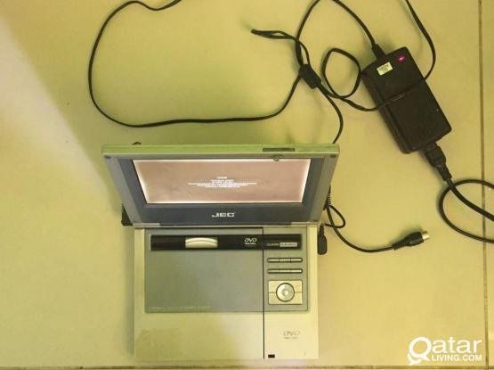 Portable DVD player with TV option