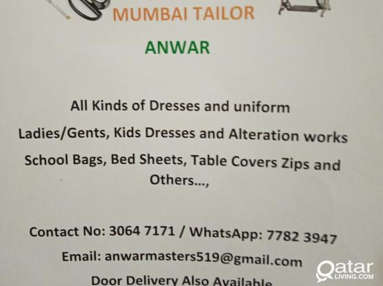 Tailoring works Anwar master   mumbai