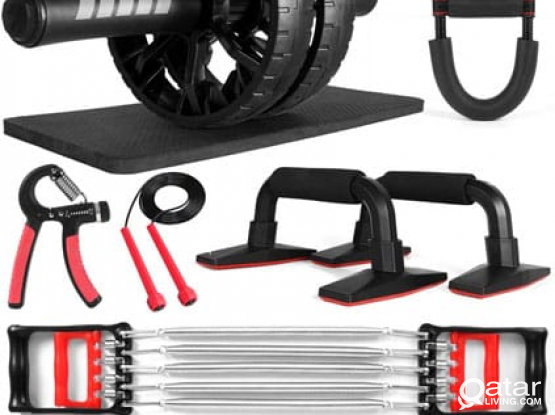 HOME GYM 6-in-1 Ultimate Home Workout Set
