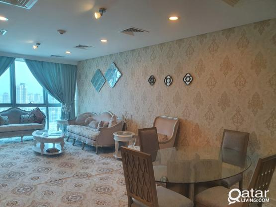 Luxurious elegant furnished 2 bedrooms in Lagoona Tower