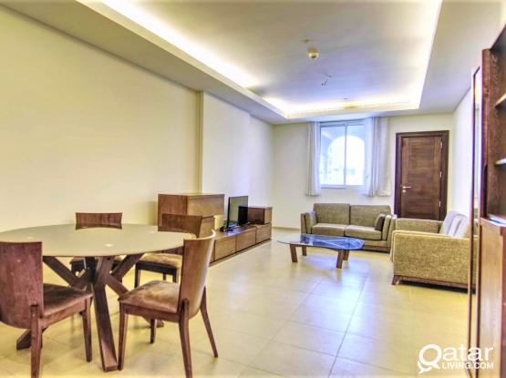 1BD Fully Furnished - The Pearl + 1Month