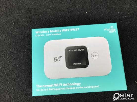 Wireless Mobile WiFi HW57 3G+4G+5G