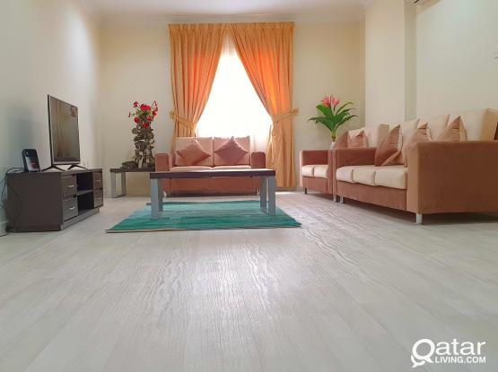 No commission ALL BRAND NEW FURNITURE with BALCONY 2bhk @Old salata close to corniche