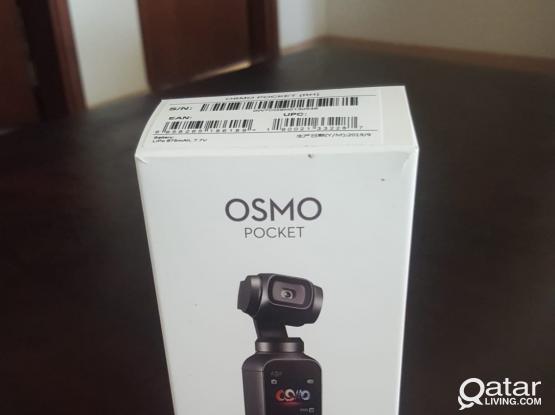OSMO POCKET/NIKON DSLR 5200/SONY HANDYCAM