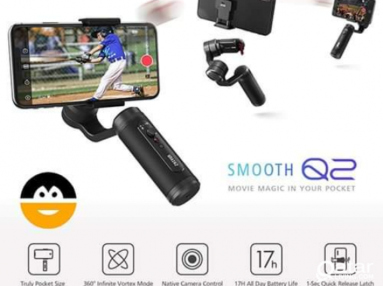 Excellent Mobile video stabilizer smooth Q2