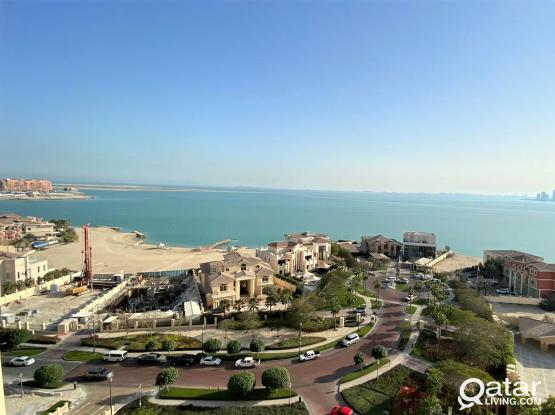 Overlooking 2BR Apartment for Sale in Viva Bahriya - للبيع شقة بالؤلؤة، فيفا بحرية ، تاور 29