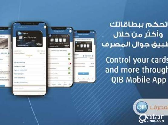 Company account in QIB  with out balance