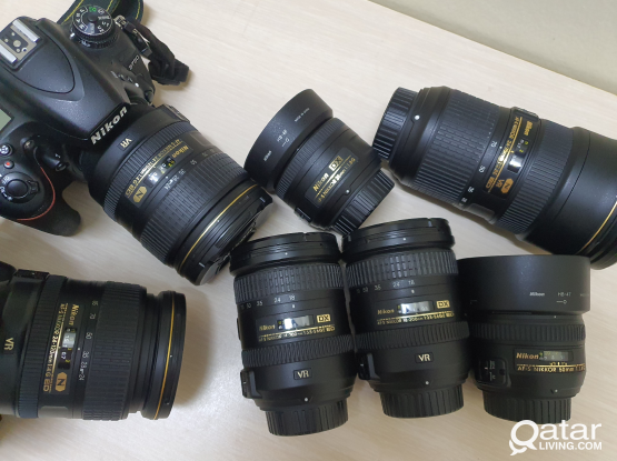 Nikon Full Frame Camera & Lenses for Sale