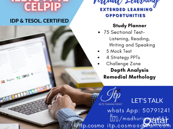 IELTS/PTE/ CELPIP CLASSES WITH IDP AND TESOL CERTIFIED