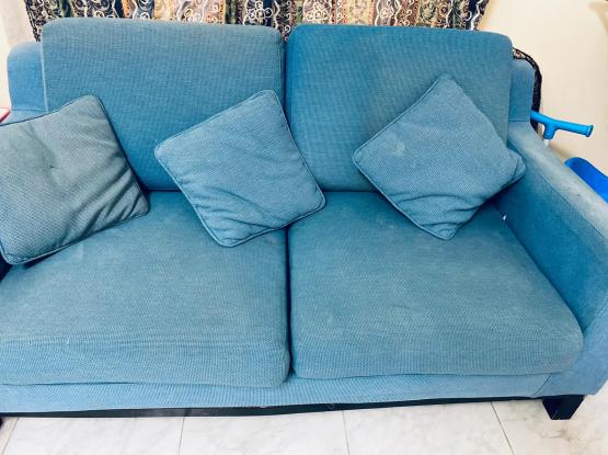 2 seater Sofa plus one single seater sofa