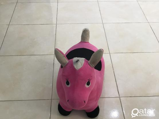Inflatable Pony Bouncy Toy/ Hopping Horse from Iplay