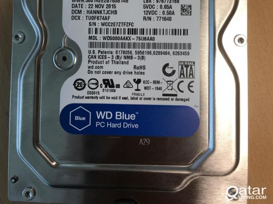 WD & Toshiba 500 GB & 1TB Desktop Hard disk for sale
